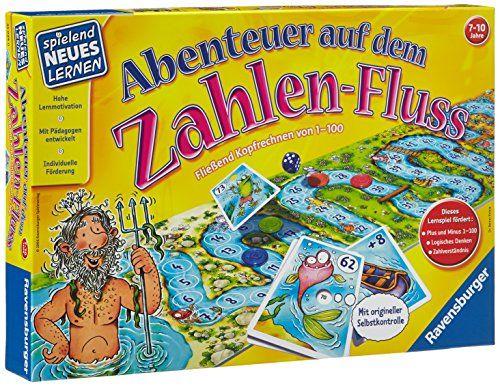 Ravensburger 25024 Abenteuer Auf Dem Zahlen Fluss Raven 17 Eur Abenteuer Lernspiele Und Kinder Lernspiele
