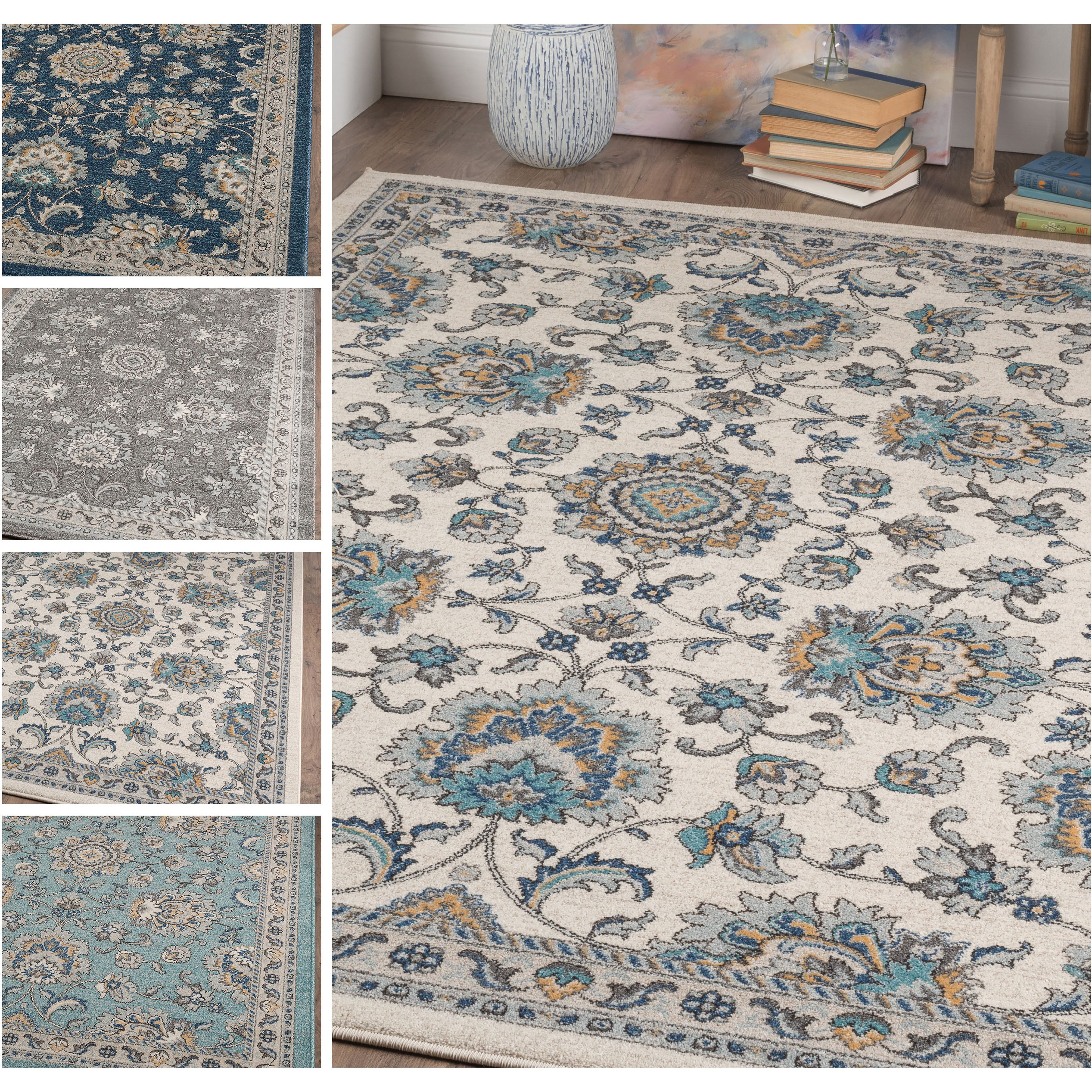 Achieve a traditional look in your living room with this Alise