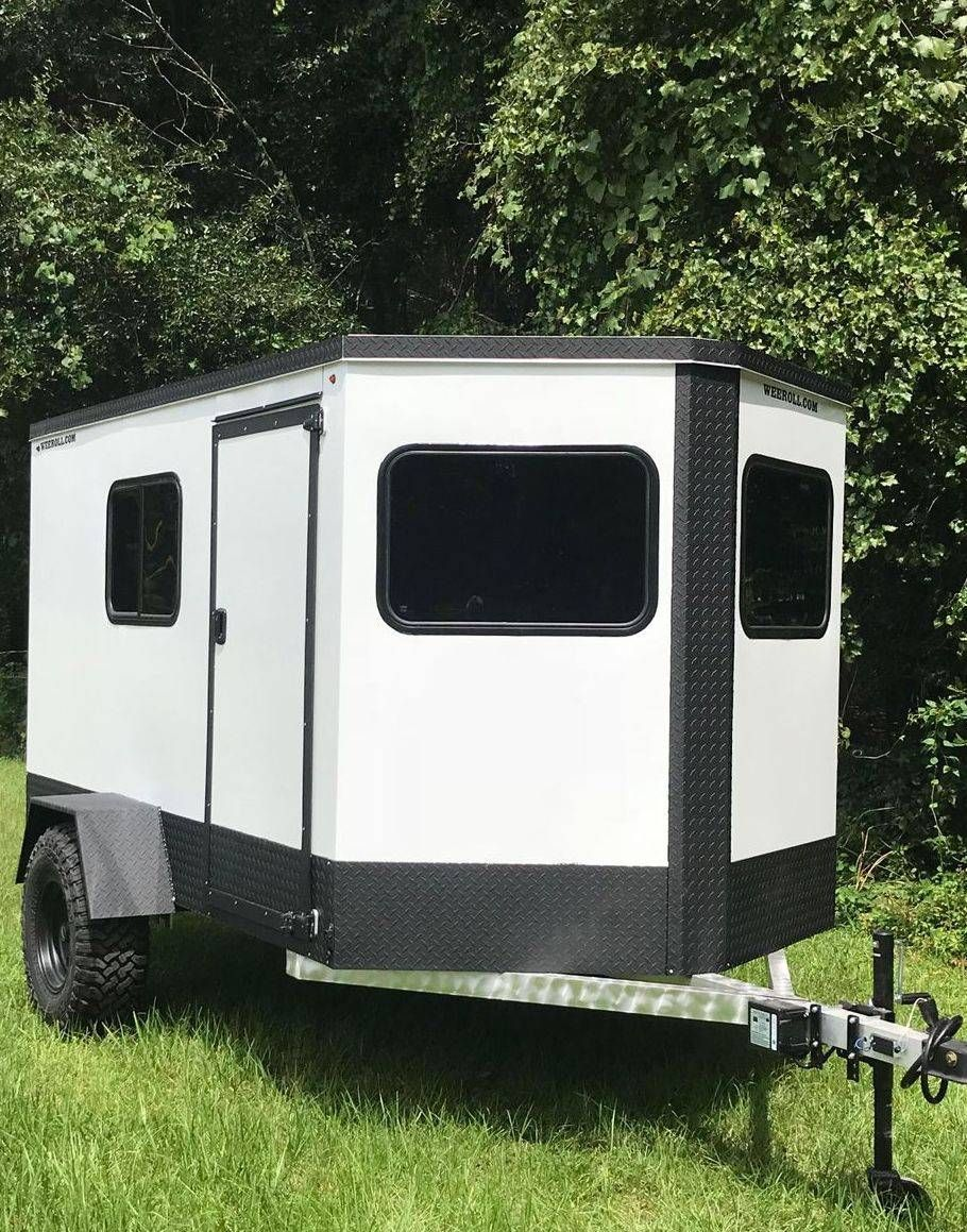 Wee Roll Mini Campers Small Travel Trailers Affordable Campers Offroad Teardrops Overland Campers Diy Travel Trailer Mini Camper Cargo Trailer Camper