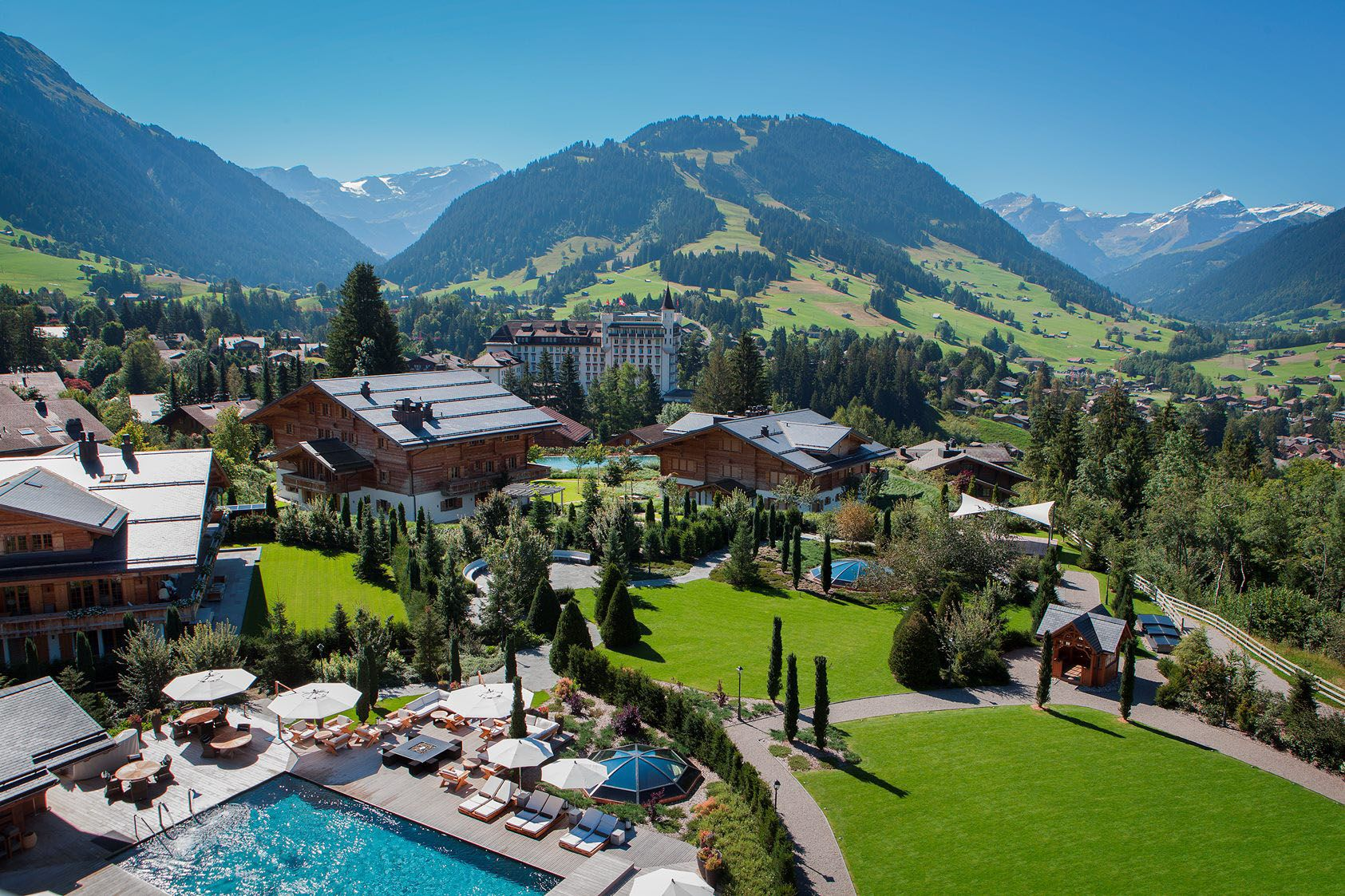 The Ultimate Mountain Retreat In The Swiss Alps View From The - Alpina hotel switzerland