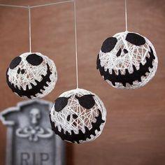 DIY Halloween String Garland