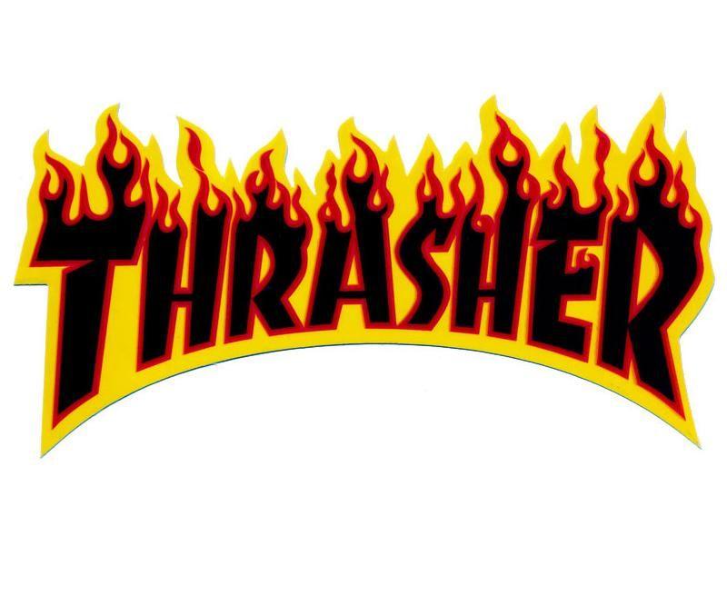 e150505675 THRASHER magazine title logo