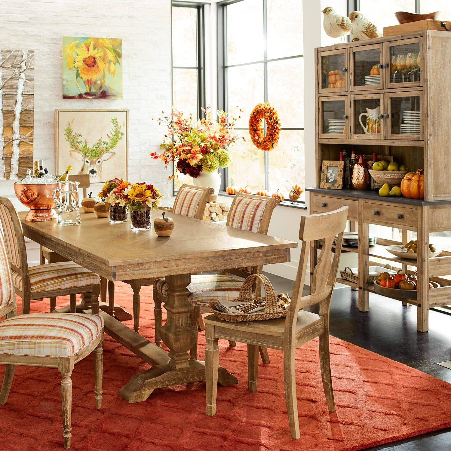 Bradding Natural Stonewash Dining Tables Pier 1 Dining