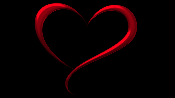Free Image On Pixabay Red Black Heart Design Style Heart Wallpaper Cute Images For Wallpaper Red And White Wallpaper