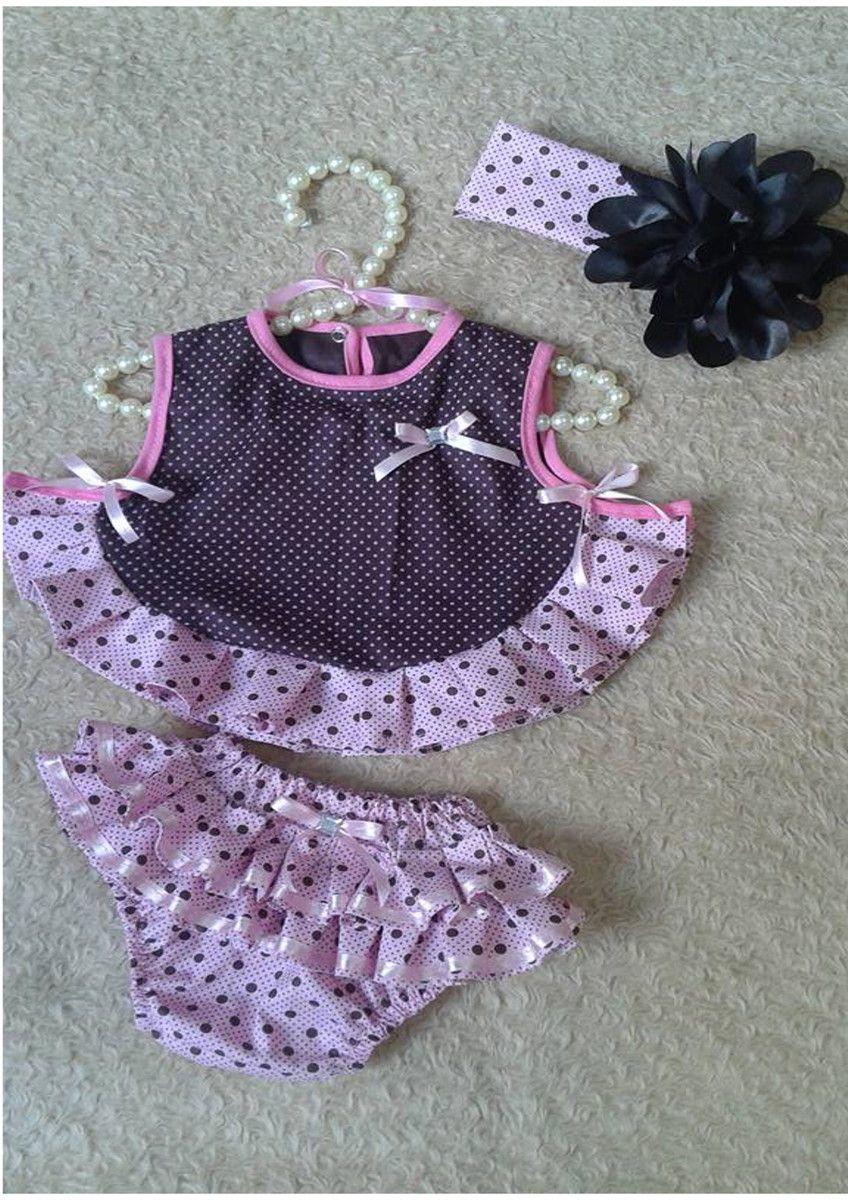 Conjunto tapa fralda + body | Pinterest | Bebe, Costura y Vestidos ...