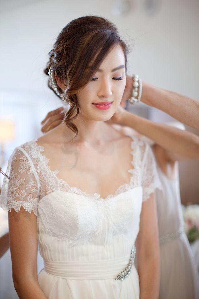 The Wedding Morning Of Wedding Updo Bridal Beauty Hair Styles