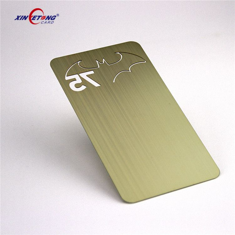 Metal Credit Card Metal Metal Business Card Machine Business Card ...