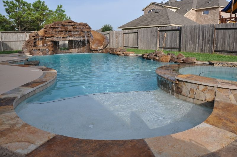 Freeform Pool Designs by Cody Pools in Austin, Houston and ... |Small Freeform Pools With Waterfalls