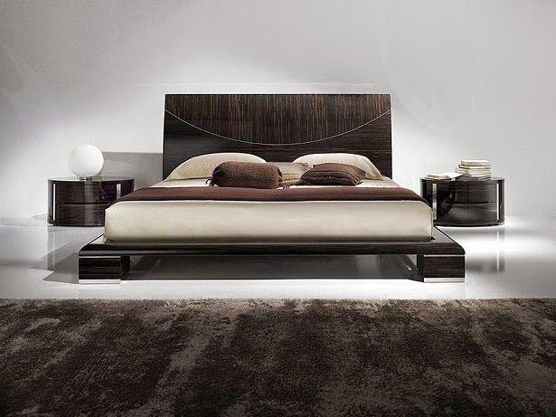 Diseo de Camas Modernas  Coffee tables  Bed design Floating bed frame Floating bed