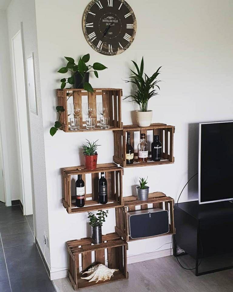 Photo of ᐅ Deko Ideen mit Weinkisten & Obstkisten | Holzkisten dekorieren