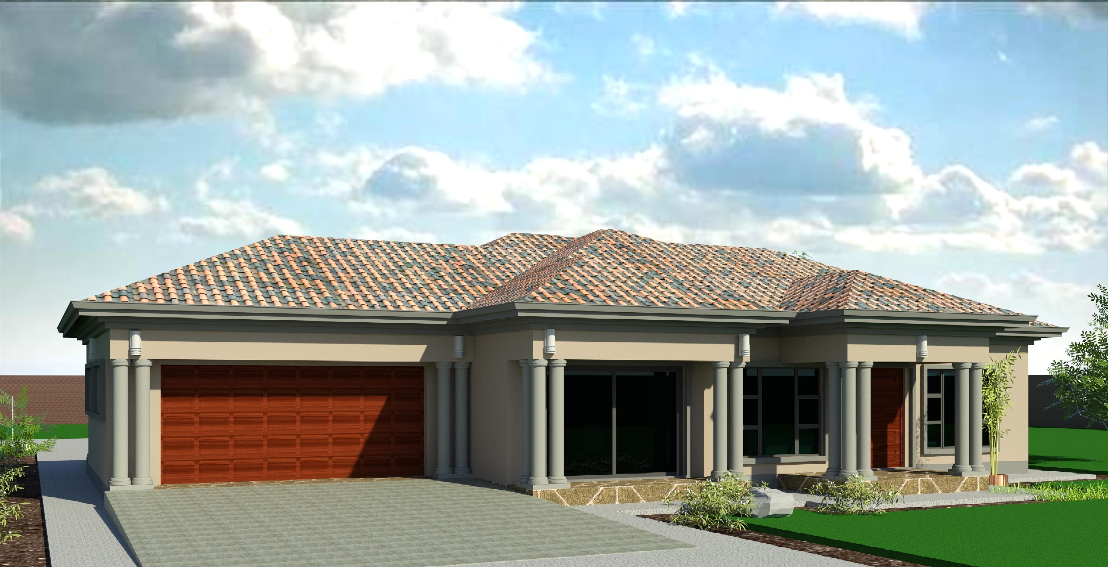 Plan Single 101 My House Plans House Plans South Africa Single Storey House Plans