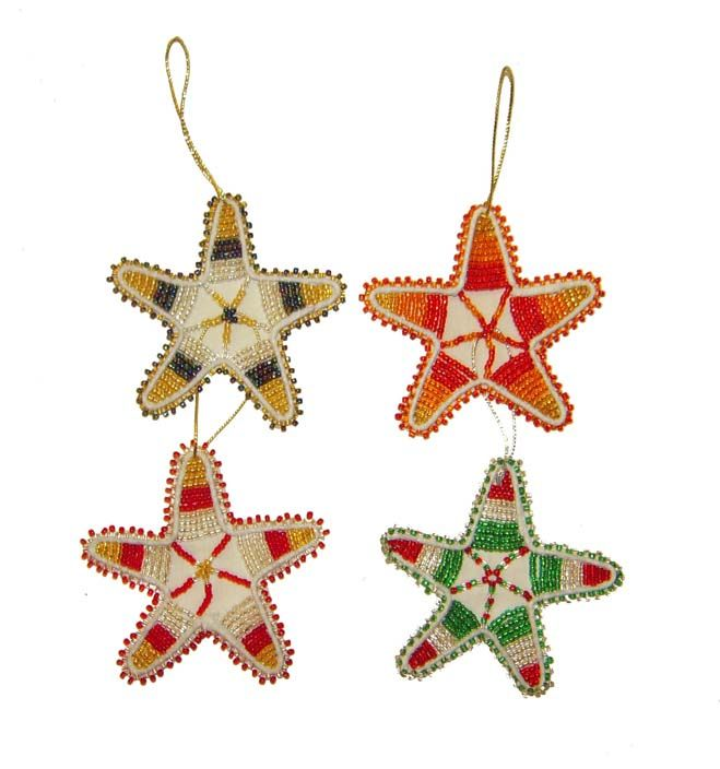 Wire beaded stars siyakatala south african craft for African christmas decoration