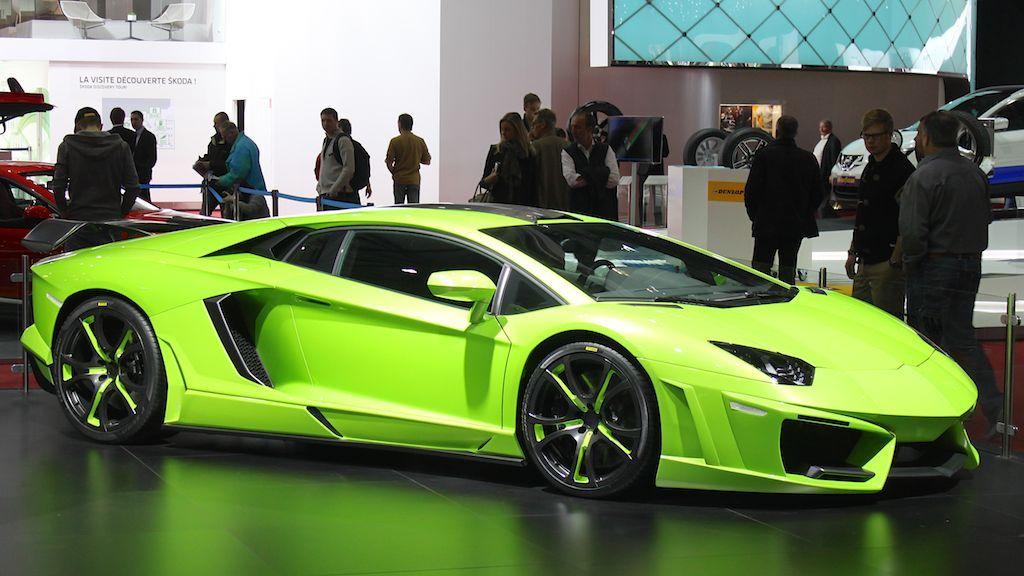 Lamborghini car sales