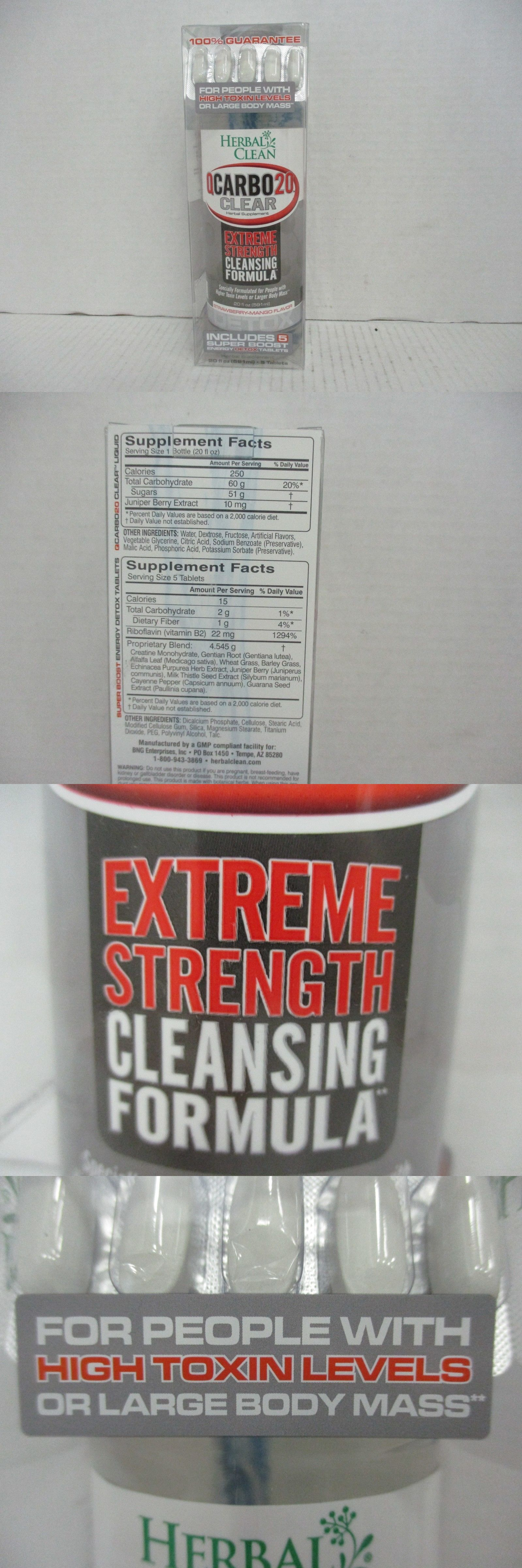 HERBAL CLEAN QCARBO20 CLEAR EXTREME+BOOST STRWBRRY-MANGO