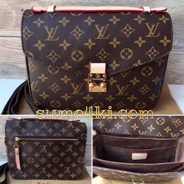 5926c5b9cb14 Женская сумка Louis Vuitton Pochette Metis Материал: канва ( точная  люксовая копия оригинала) В