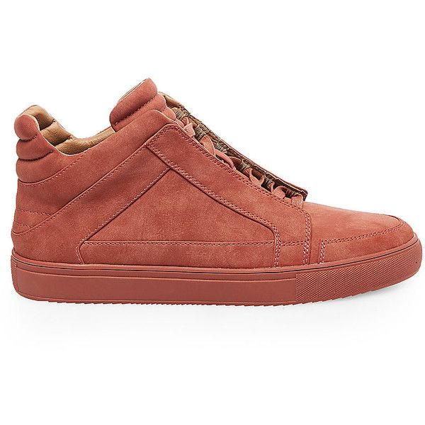 Steve Madden Men's Dodge Sneakers ($100) ❤ liked on Polyvore featuring  men's fashion,