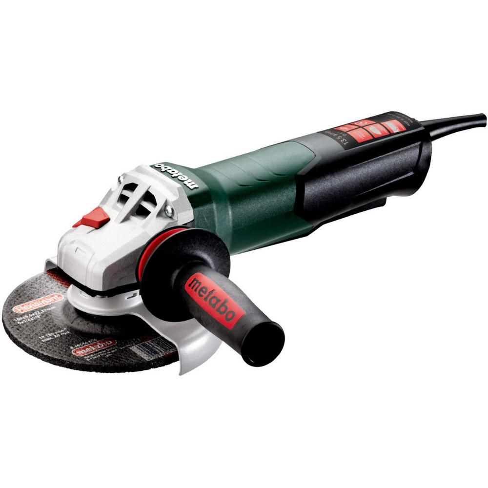 Metabo 13.5 Amp Corded 6 in. WEP 15-150 Quick Angle Grinder