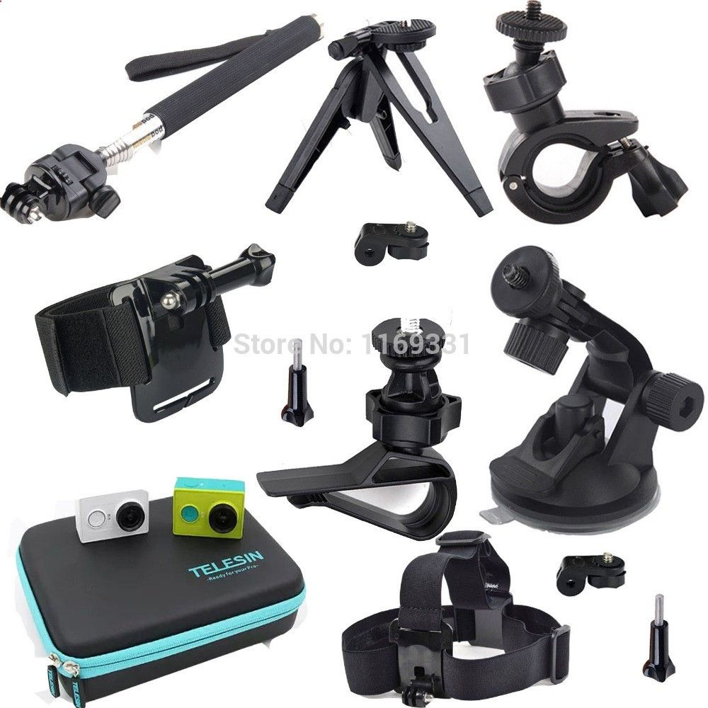 36.79$ Watch here - dihdh.justgood.pw... - Xiaomi Xiao yi Xiaoyi Accessories Kit Travel Waterproof Case Bag Head Chest Monopod Mount for Xiaomi Xiao mi Xiaoyi sport Camera 36.79$