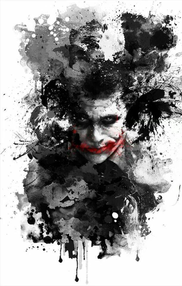 Black White Joker Red Lips Batman Joker Wallpaper Joker Hd