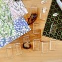Craft Supplies: Glass shapes, magnets, and lots of other goodies