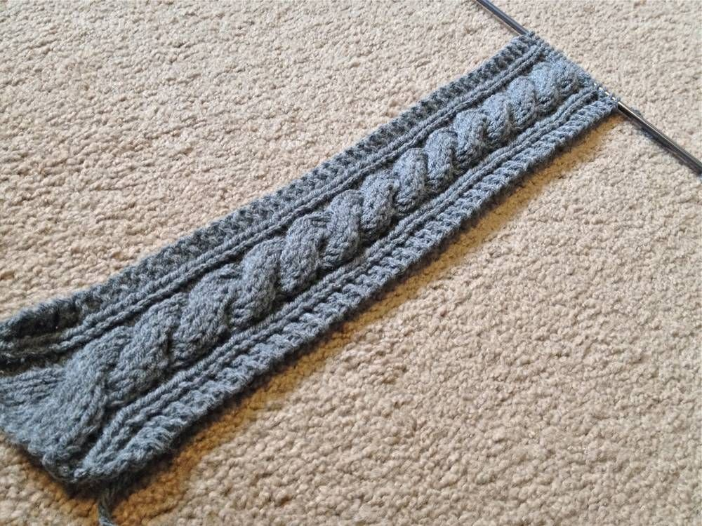Knit Headband Until Desired Length #knitheadbandpattern