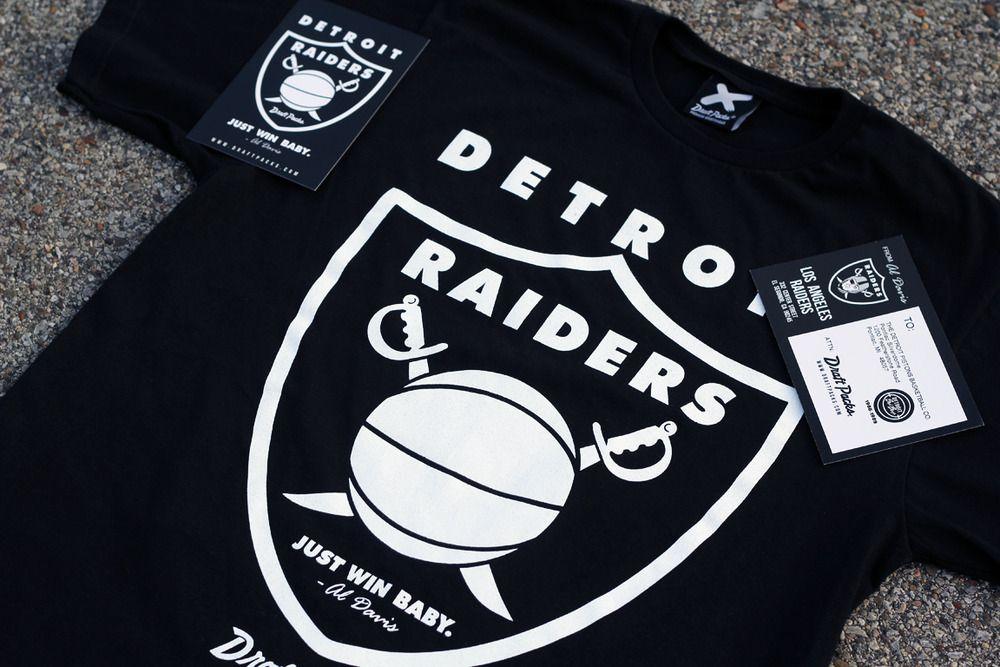 7fd7ac6a7bd8 Draft Packs Detroit Raiders (Black)