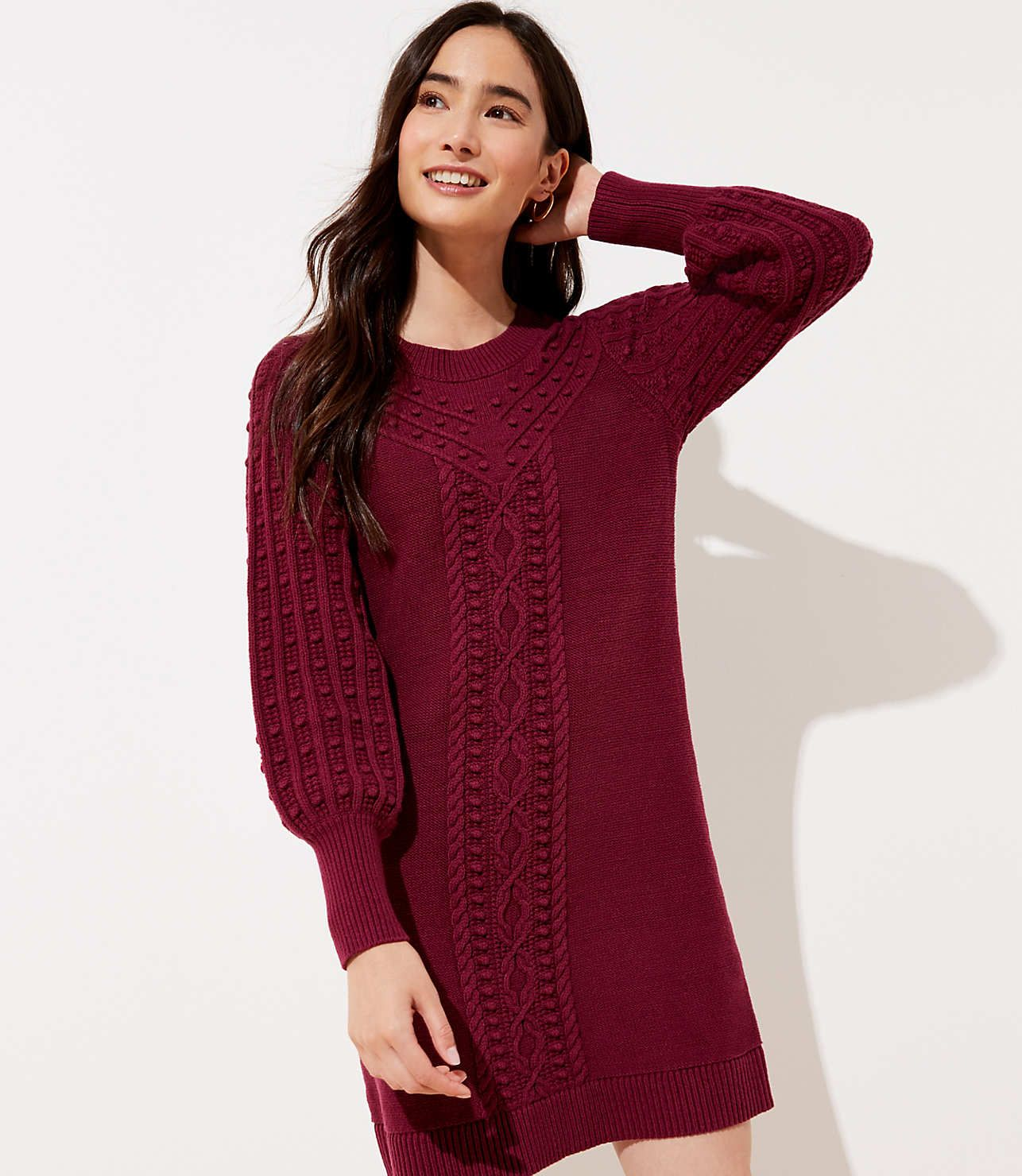 Cable Sweater Dress Loft Cable Sweater Dress Sweater Dress