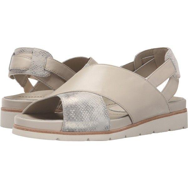 Earth Santorini Earthies (Off-White Soft Calf) Women's Sandals (20 KWD)