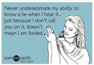 An habitual liar