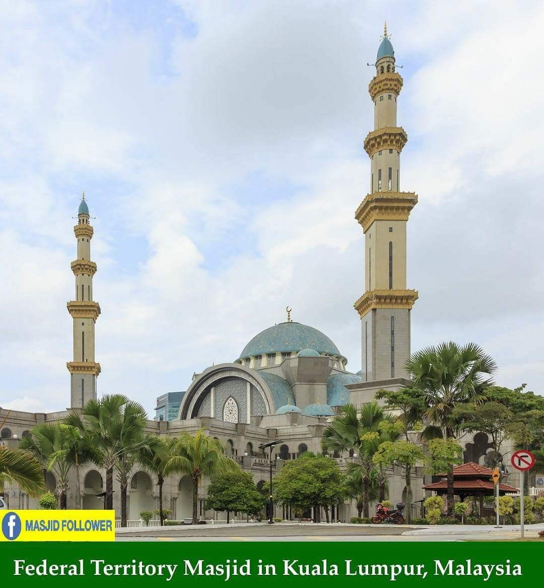 Beautiful Masjid In Malaysia