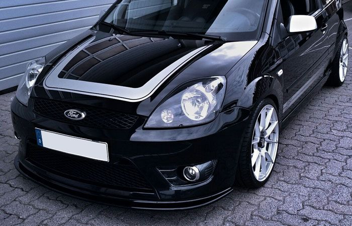 Ford Fiesta Mk6 St150 Front Splitter Triple R Composites Body