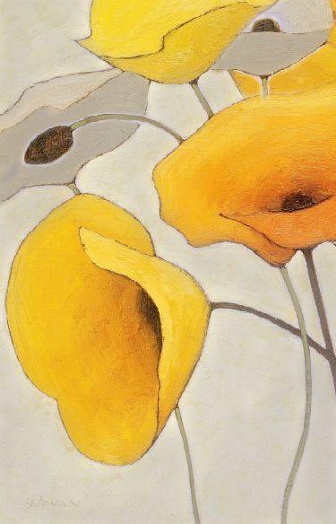Topstorysites Review Art Jaune Coquelicots Peinture Et Art De