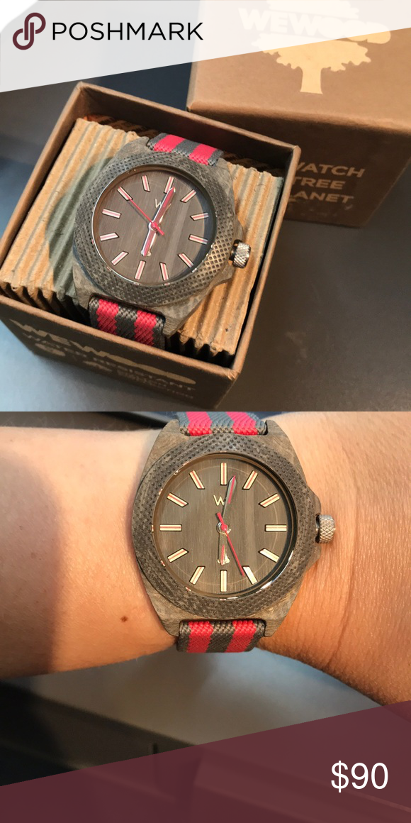With Teak Wewood Pink Brand Watch Phoenix New 38 Attached YyIgvmb6f7