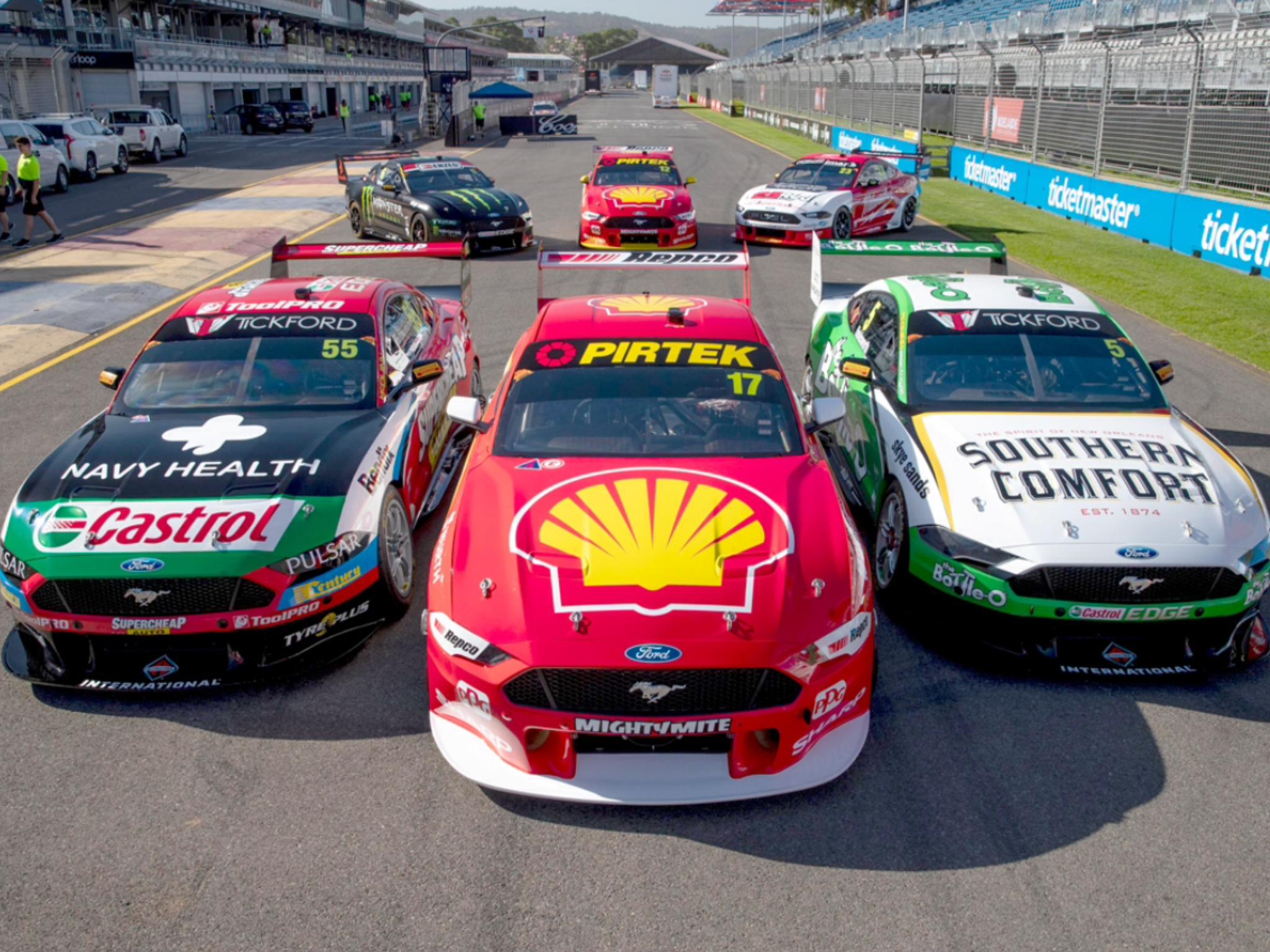 2019 Superloop Adelaide 500 Racing Australian Cars Ford Racing