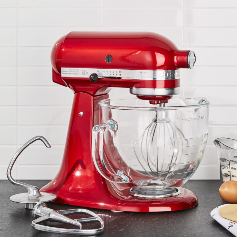 Kitchenaid Artisan Design Series Candy Apple Red Stand Mixer