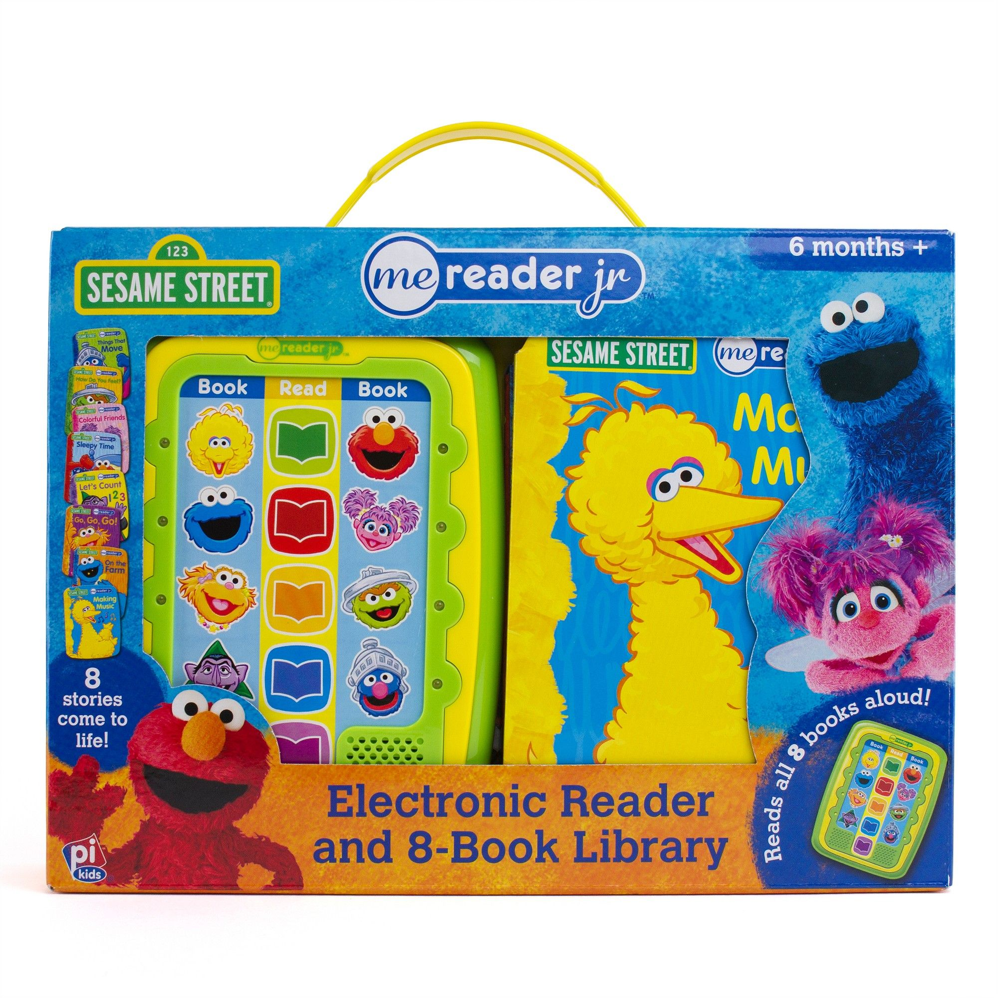 Sesame Street Electronic Me Reader Jr Story Reader And 8