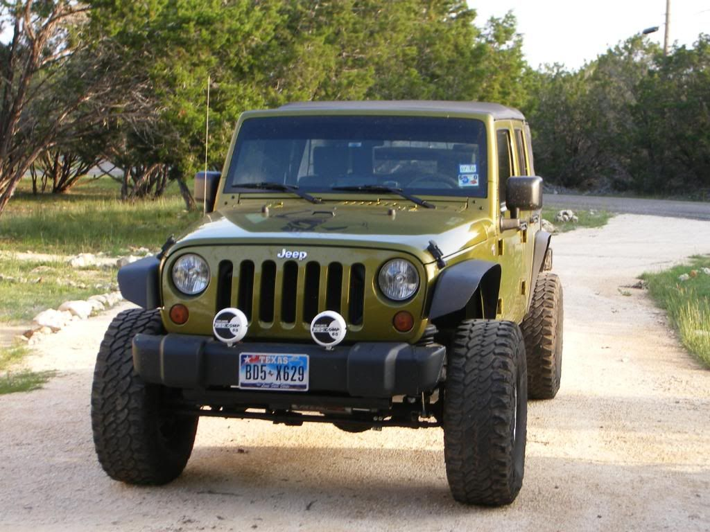 Trimmed Stock Bumper And Fenders On A Jk This Would Be A Cheap