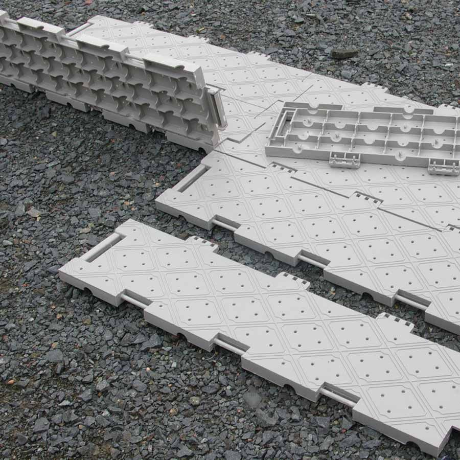 The unique design of the Portable Outdoor Floor Tile provide a ...