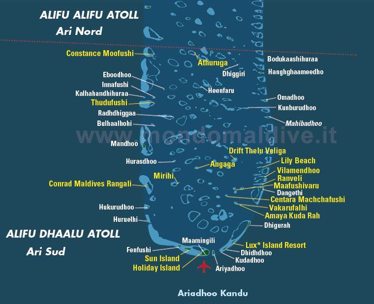 Map of South Ari Atoll Maldives Maldives Pinterest Maldives