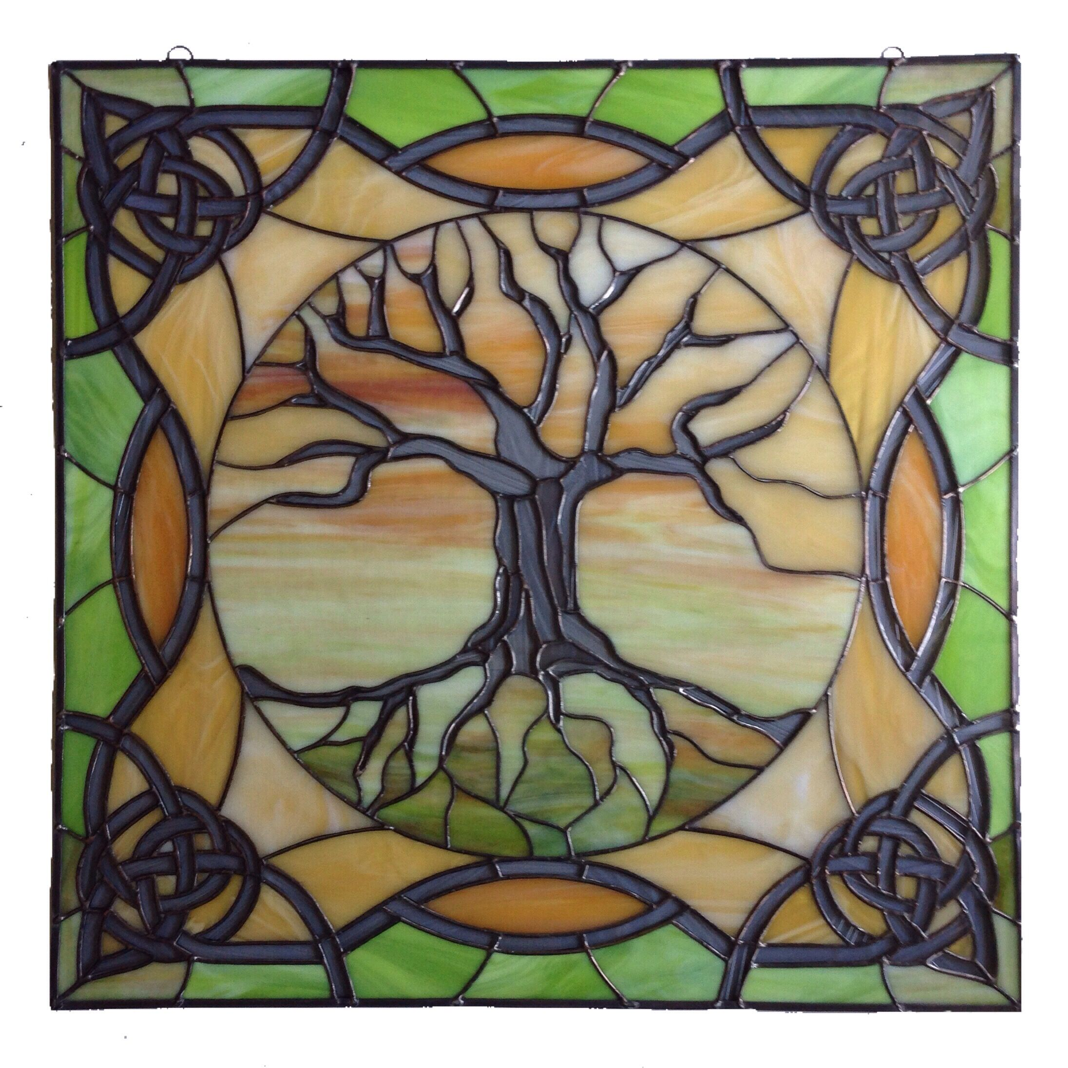 stained glass panel 26