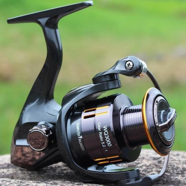 Hiumi WQ Series 5.2:1 13 1 Spinning Fishing Reel