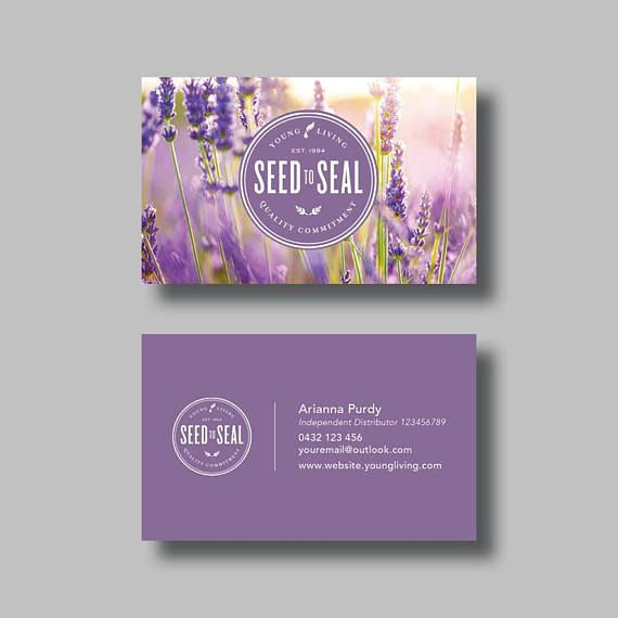 Young living essential oils business card stamp digital essential young living essential oils business card stamp digital colourmoves