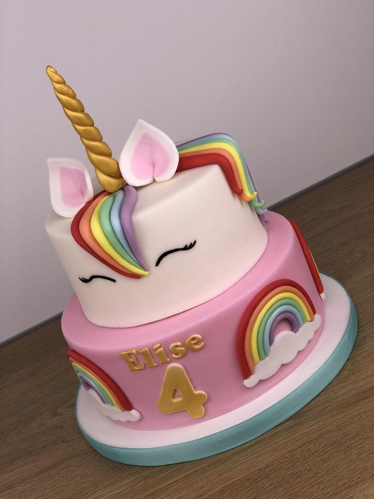 1001 Ideen Zum Thema Einhorn Torte Fur Kleine Kinder Kuchen Und Torten Kindertorte Torte Kindergeburtstag
