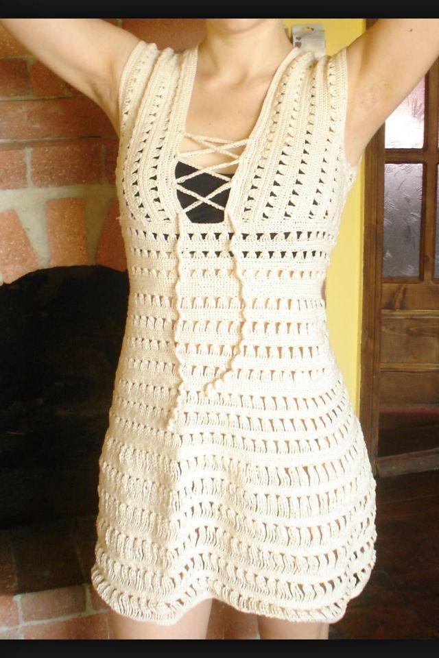 Cossalina Dress Moda Biquini De Croche Vestidos De Croche