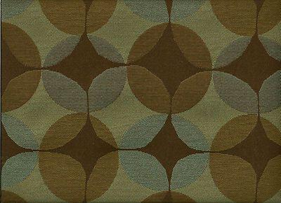 Maharam Venn Thunder Woven Mid Century Modern Geometric Upholstery