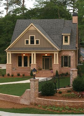 Selecting Home Fencing House Plans And More Craftsman House Craftsman Bungalows Craftsman Style Homes