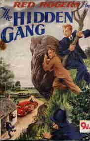 """Red Rogers in """"The Hidden Gang""""  via Curtis Warren Ltd, circa 1948-1949"""
