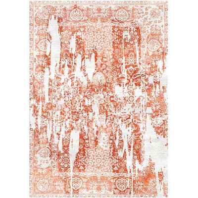 Bungalow Rose Aliza Handloom Rust Area Rug Area Rugs
