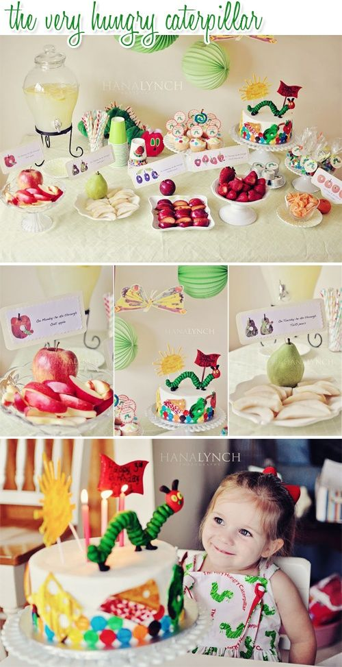 Children S Birthday Party Theme Ideas Hungry Caterpillar Party
