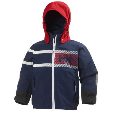 K PIER JACKET Perfect as a sailing jacket or for everyday use, this kids´ jacket offers Helly Tech® construction for protection and comfort.